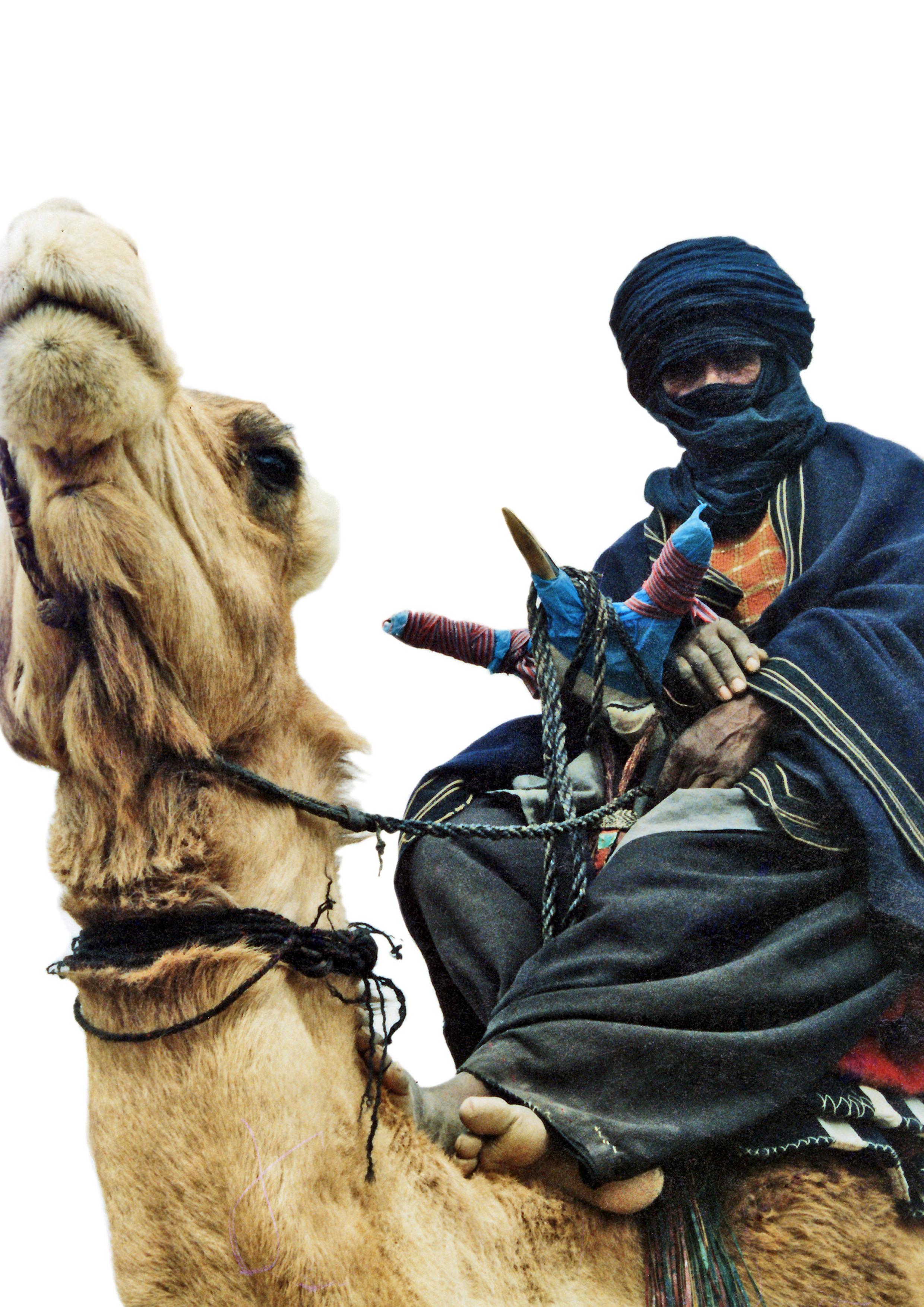 while these Tuaregs take